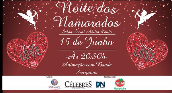 Celebre o amor na Noite dos Namorados da S.R. Mampituba