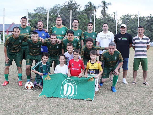 Conhecido o time campeão da Copa de Futebol Suíço Sênior