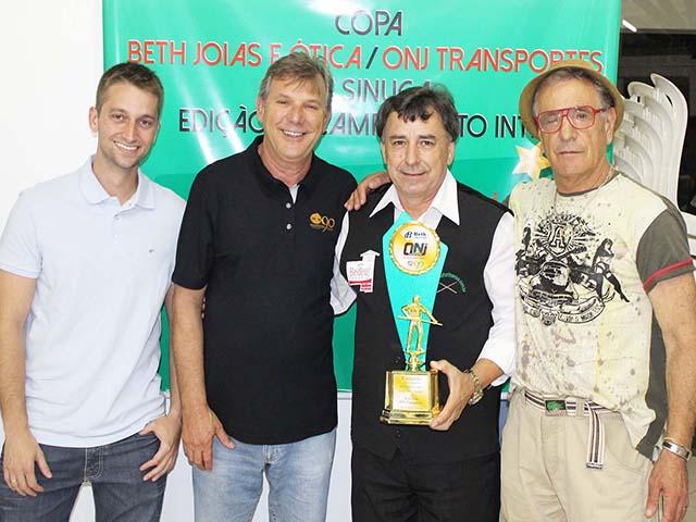 Conhecidos os vencedores da Copa de Sinuca