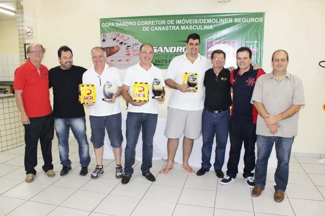Copa De Moliner Seguros / Sandro Corretor de Imóveis de Canastra Masculina conhece vencedores