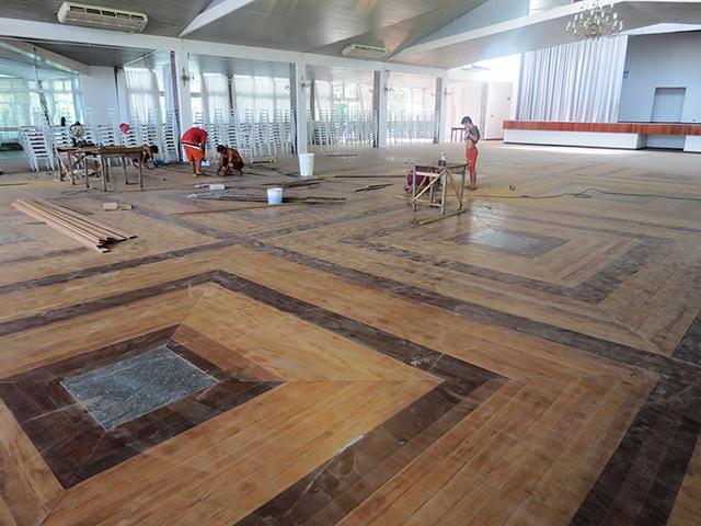 Salão Social da S.R. Mampituba recebe revitalização