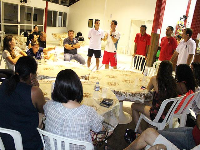 Planos e novidades para a natação da S.R. Mampituba são apresentados aos pais e atletas