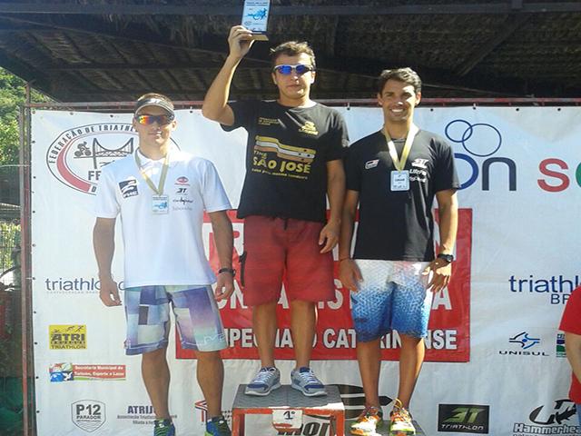 Triatleta da S.R. Mampituba / FME faz bonito em Campeonato Catarinense
