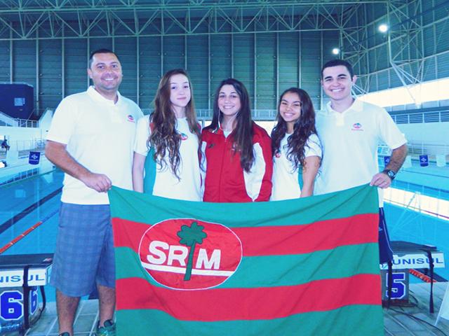 Equipe de natação da S.R. Mampituba / FME faz bonito em Campeonato Estadual e se prepara para Sul Brasileiro