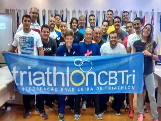 Professor de Triathlon da S.R. Mampituba participa de capacitação em Brasília