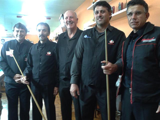 Equipe da S.R. Mampituba faz bonito em Campeonato Catarinense Interclubes de Sinuca