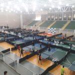 Competição de Tênis de Mesa
