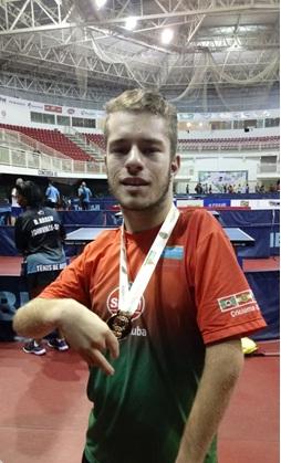 Mesatenistas da S.R. Mampituba conquistam três medalhas na Copa Brasil em Toledo