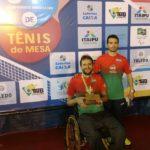 Atletas do MampitubaFME participarão de competição de tênis de mesa em Cuiabá