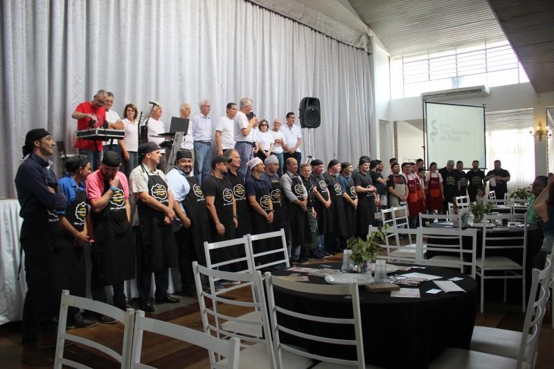 Pelo 6º ano Mampituba é parceiro do Almoço Domingo Solidário