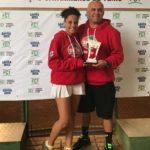 Tenista do Mampituba foi destaque na 4ª etapa do Estadual Infanto Juvenil de Tênis