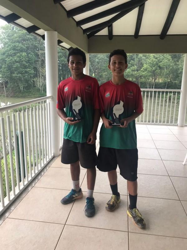 Competição regional movimentou as quadras de tênis durante o final de semana