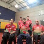 Equipe paralímipica de tênis de mesa a caminho do Parajasc