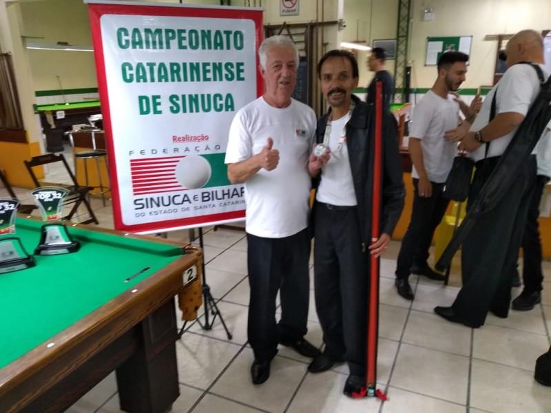 Mampituba participa de Campeonato Catarinense de Sinuca