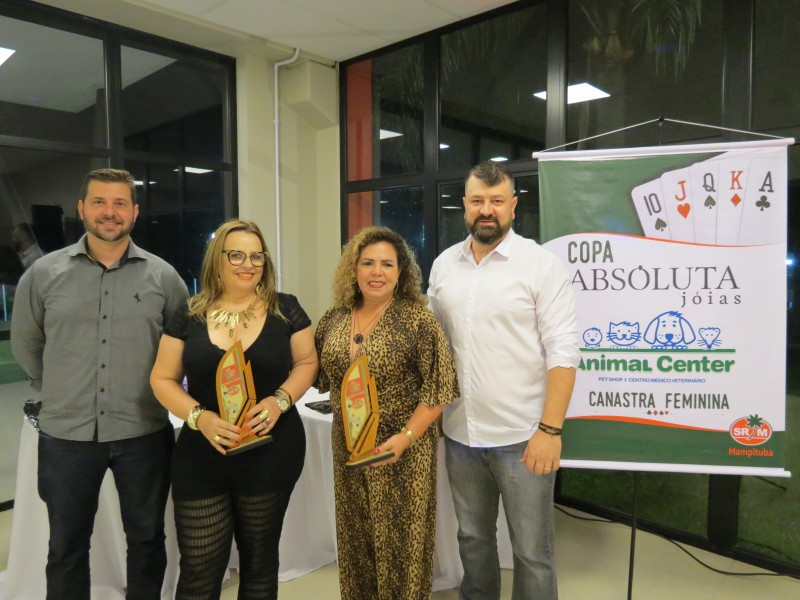 "Finalizada Copa ""Absoluta Joias/Animal Center"" de Canastra Feminina"