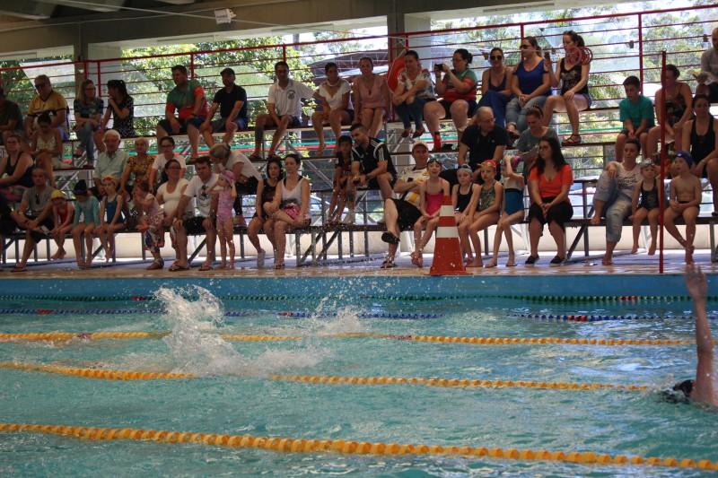 Competição Interna de Natação envolveu 50 crianças
