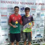 Na última competição de tênis do ano, Mampituba conquista lugares no pódio - Gustavo Bernardi
