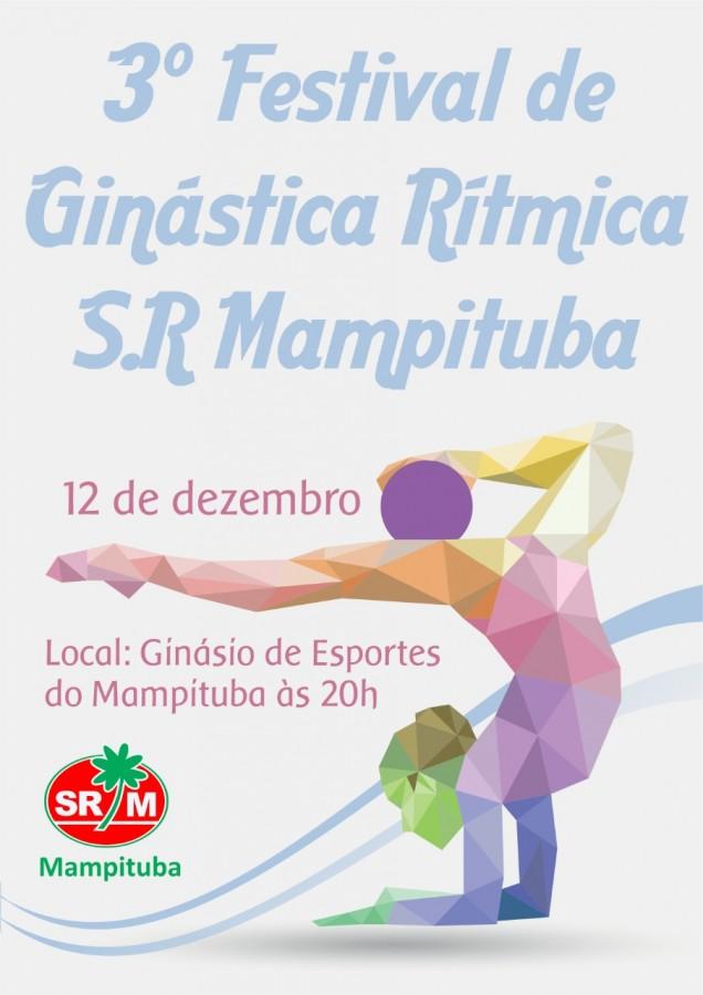 Festival de Ginástica Rítmica acontecerá na próxima semana
