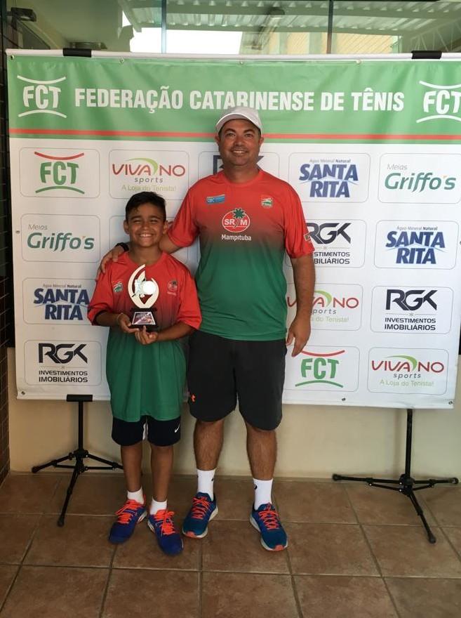 Atleta do Mampituba se destacou na Copa Abertura de Tênis