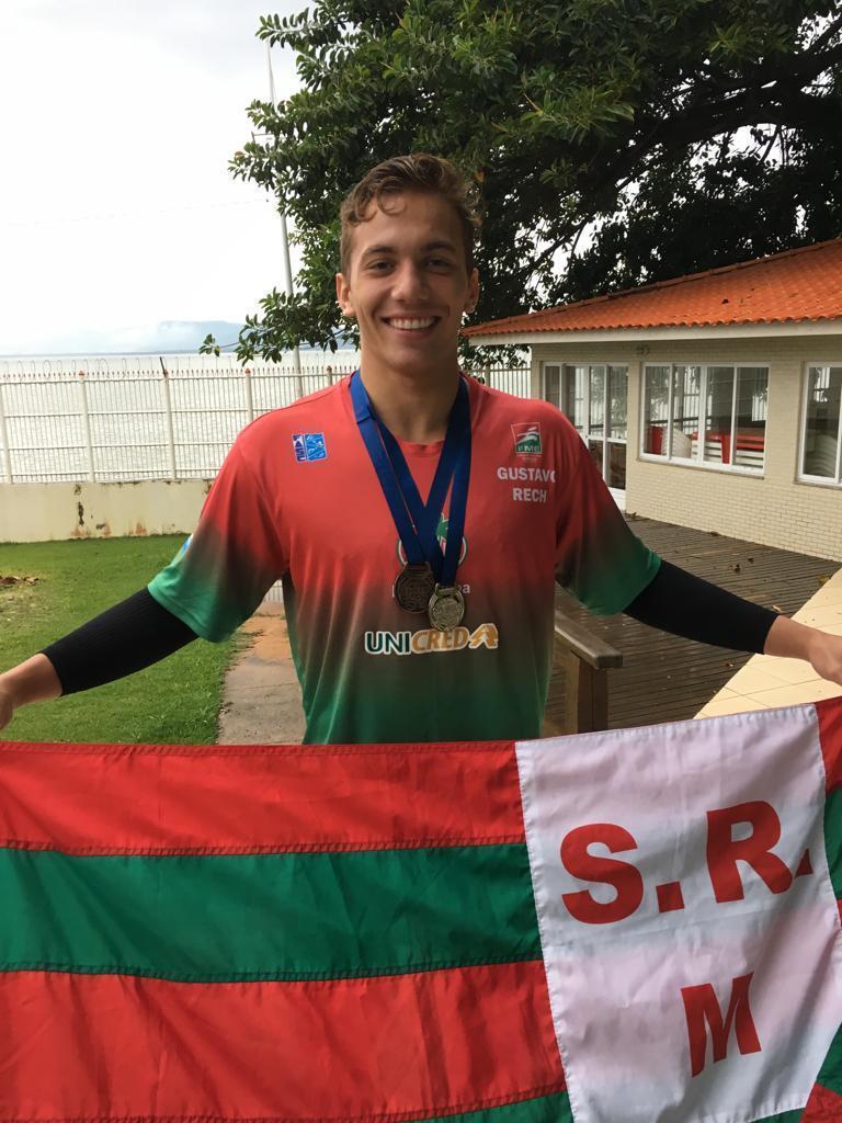 Atleta do Mampituba conquista prata e bronze em Sul Brasileiro