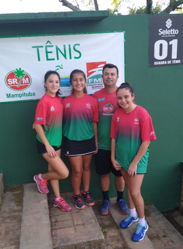 Criciúma emplacou 7 convocações para a Copa das Federações de Tênis