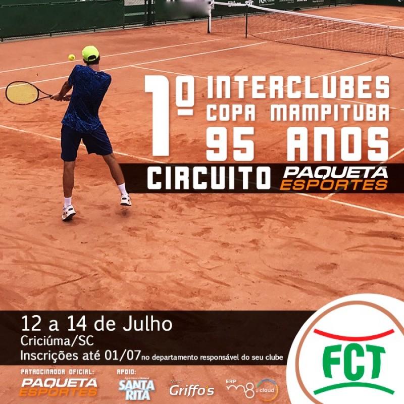 Copa Mampituba 95 anos movimentará as quadras de tênis neste final de semana