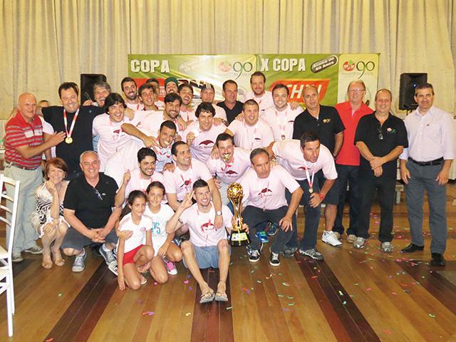 De Moliner Seguros / Apolo XVI / Skol / HDI vence Copa de Futebol Suíço Aberto