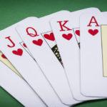cards poker deck English, poker royal flush