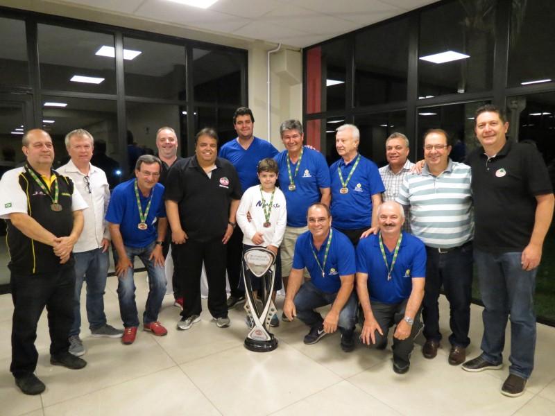 "Equipe Iron campeã da Copa ""S. R. Mampituba"" de Bocha Masculina"