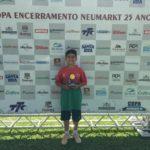 Na última competição de tênis do ano, Mampituba conquista lugares no pódio - Artur Coelho
