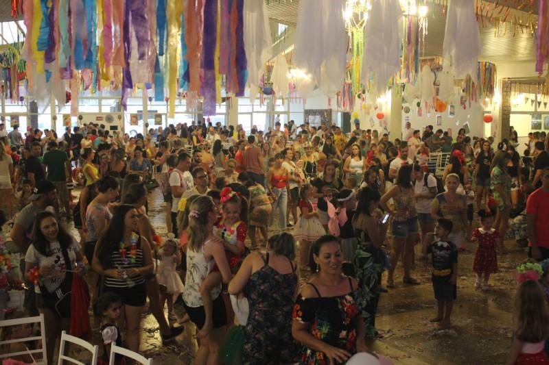 Diversão e solidariedade marcam o Carnaval Infantil Mampituba