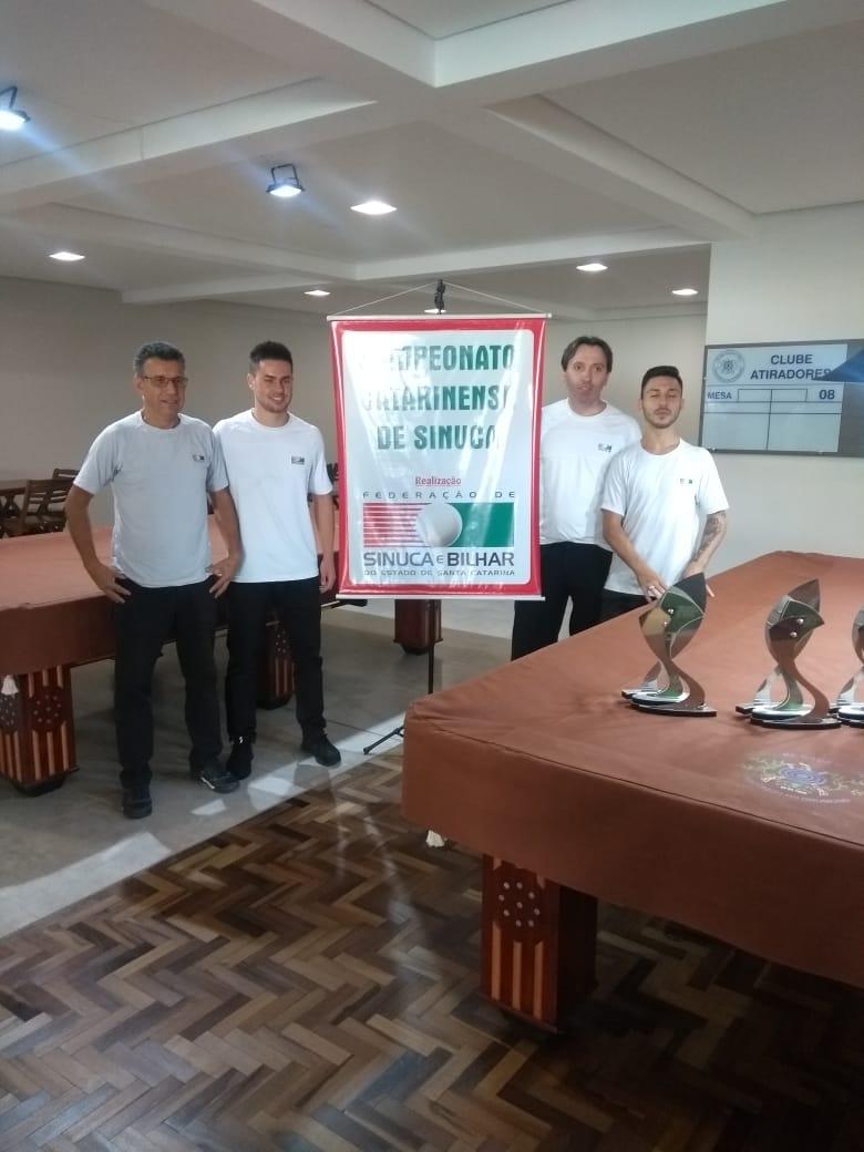 Sinuquista do Mampituba conquistou segundo lugar em campeonato