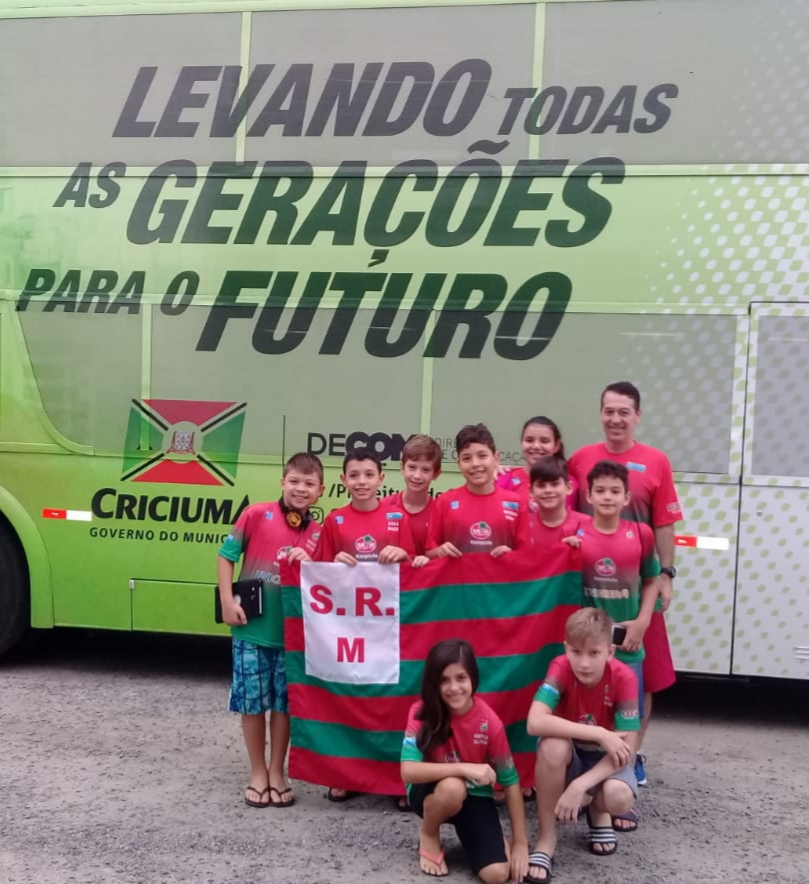 Natação do Mampituba/FME participou do primeiro Festival Sul Brasileiro do ano