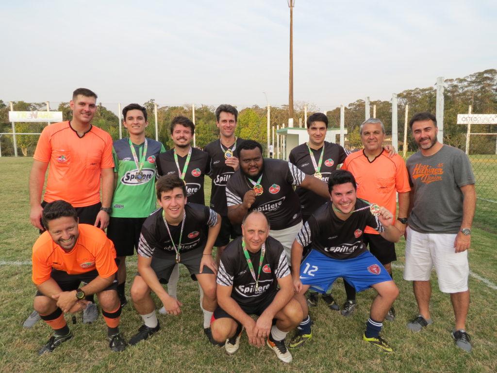 Campeão - Equipe Preta