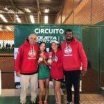 Tenistas do Mampituba conquistam o pódio em categoria feminina do Infanto Juvenil de Tênis - Sofia Silva e Ana Flavia