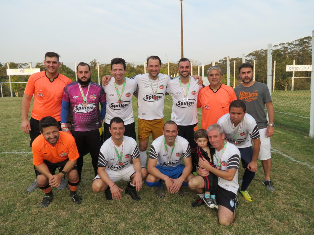 Vice campeão - Equipe Branca