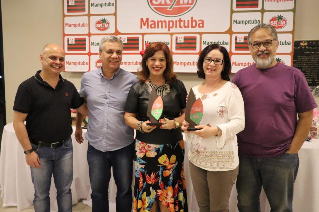 Maria Clarete Bet Rodriguese Marcia Elisia Spillere Soares - 4 lugar
