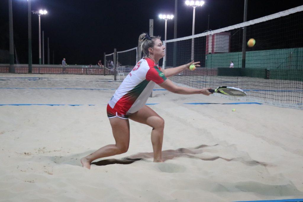 Atleta representará Mampituba nas três últimas etapas do Mundial de Beach Tennis (3)