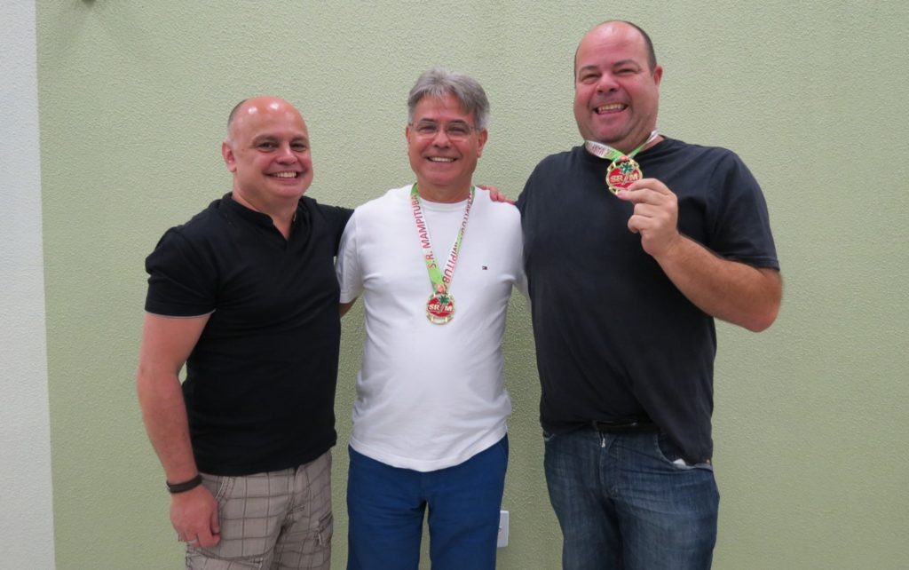 Campeões -  Luiz José Damázio e Clemerson Avila