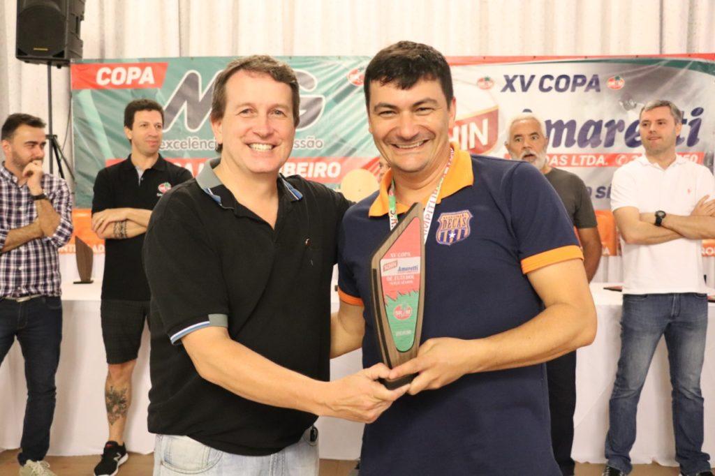 """Disciplina -Equipe Decas - XV Copa """"Schin-Amaretti Bebidas"""" de Futebol Suíço Sênior"""