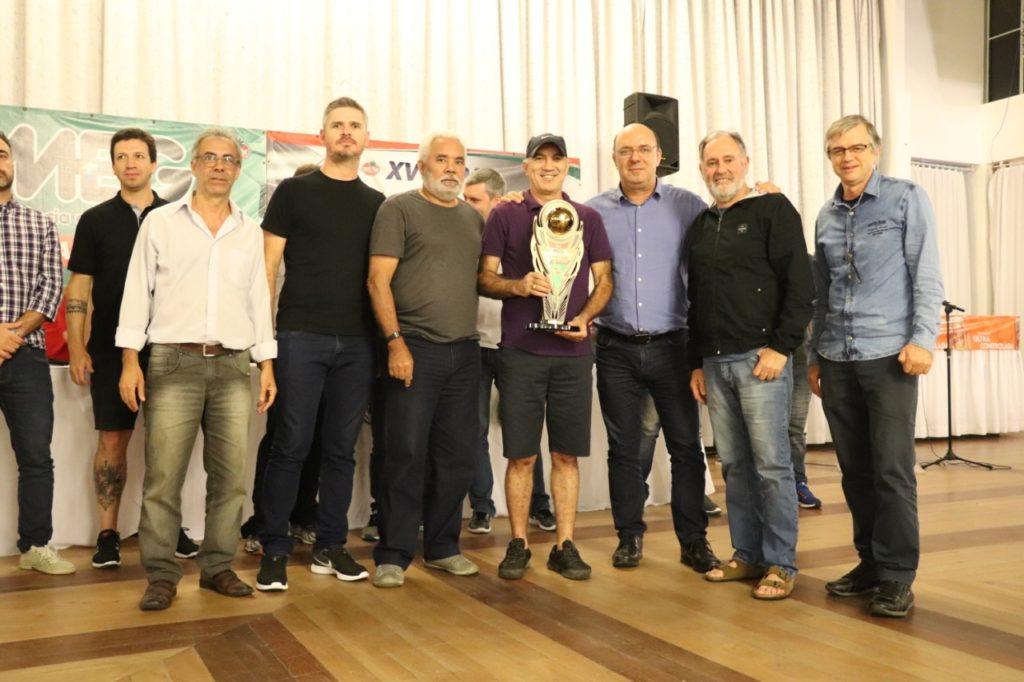 """Equipe Carvoeiros - 4º lugar Copa """"Meg – Taça Mario Ribeiro"""" de Futebol Suíço Veterano"""
