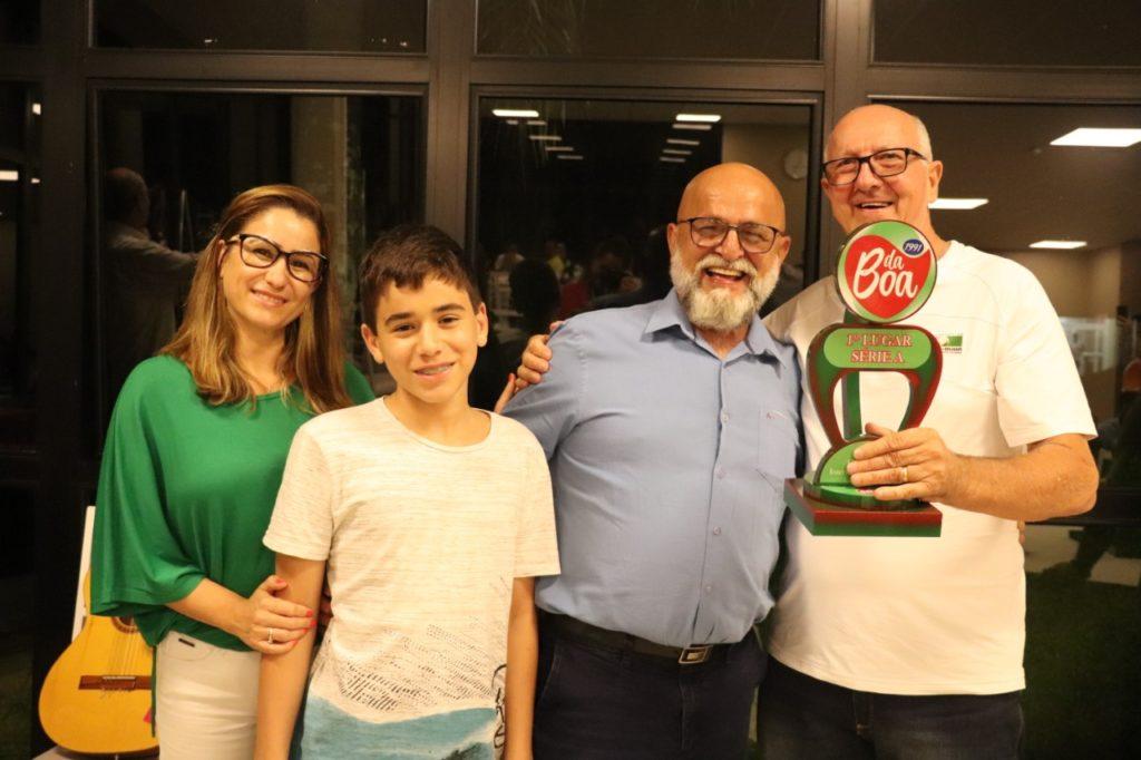 1º Lugar Série A – José De Bona