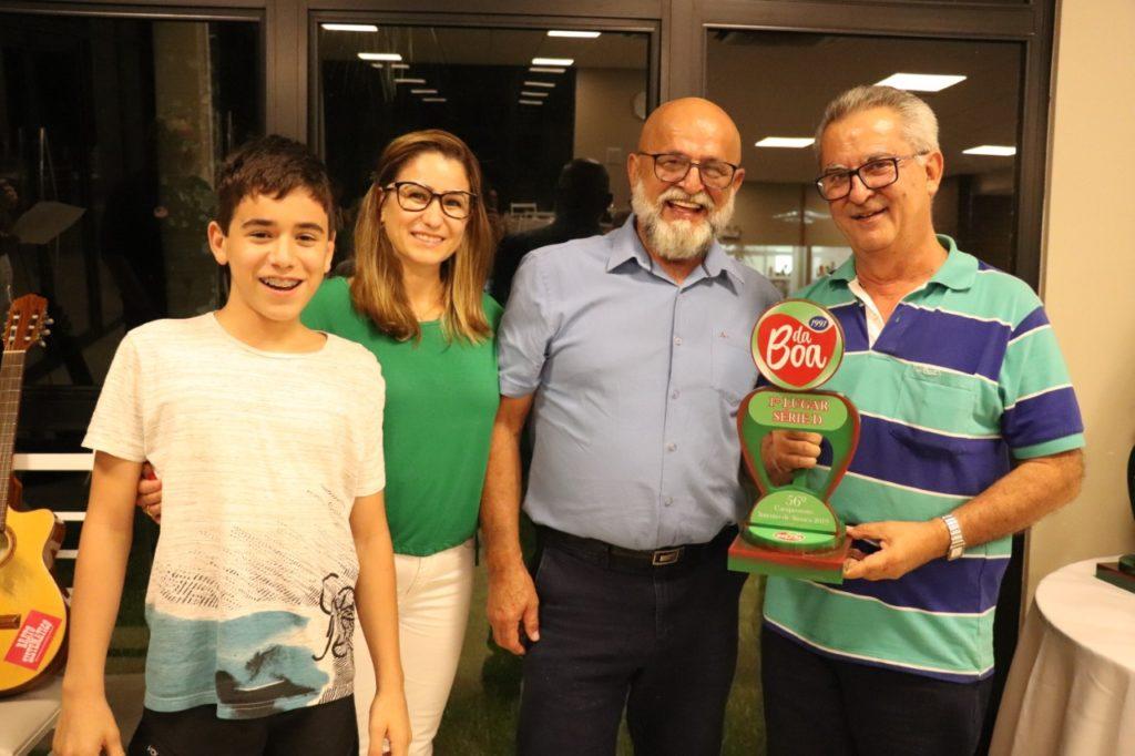 1º Lugar Série D – Antônio Martins Di Pietro
