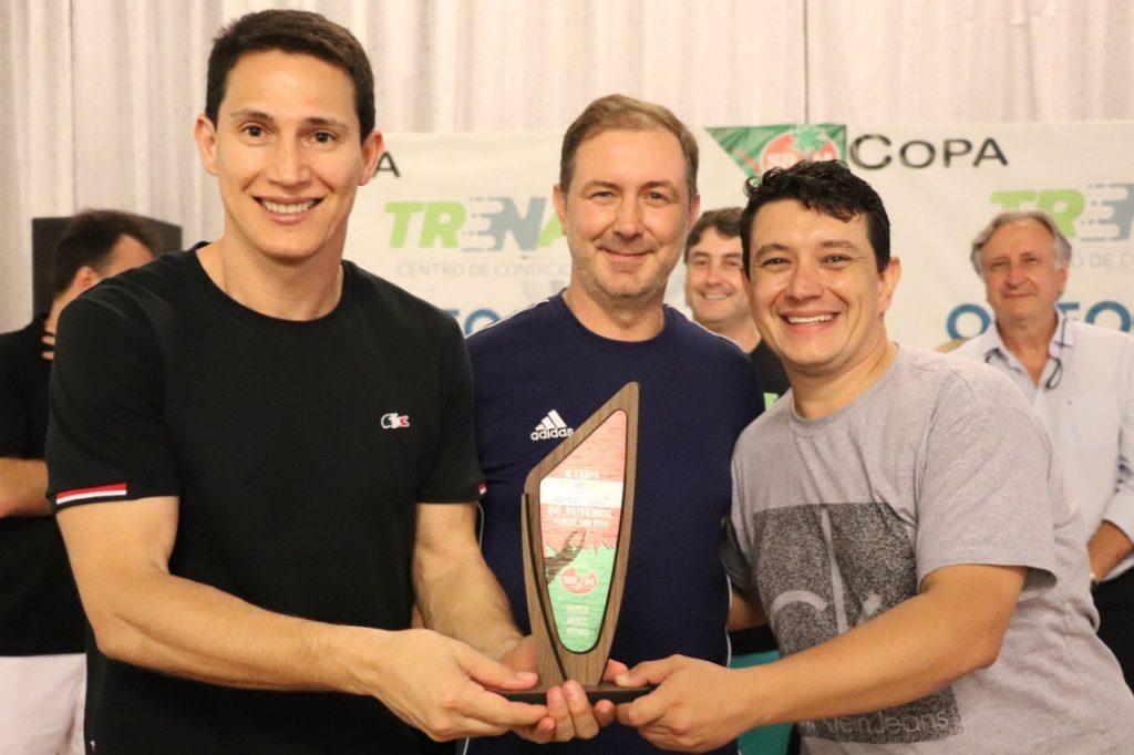 Defesa menos vazada - Edson Vieira e Tiago de Oliveira Zappelini equipe Fina Estampa