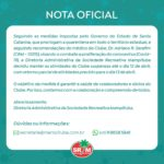 nota oficial mampituba